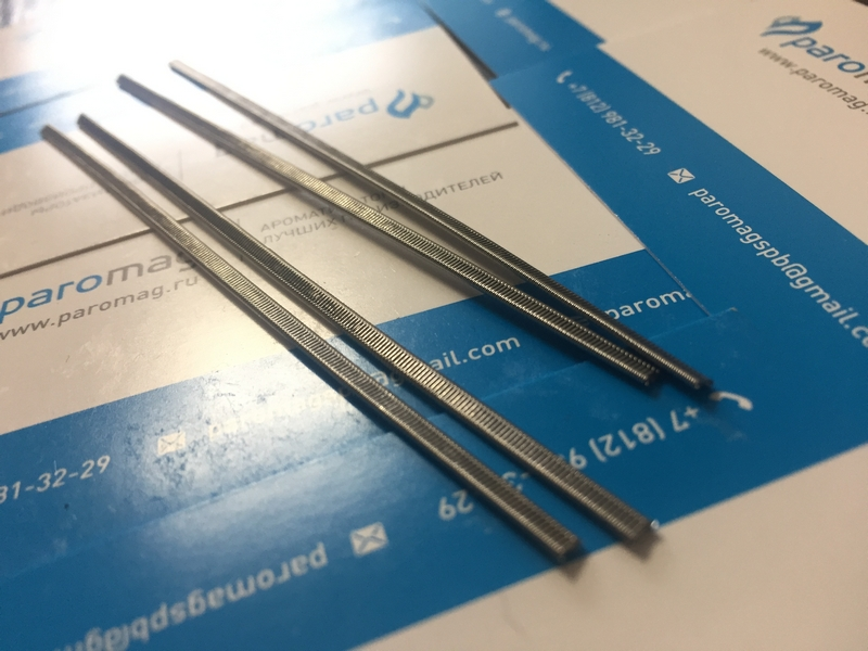 картинка The Staple Staggered Fused Clapton 2x0.4K/0.2Ni от магазина Paromag