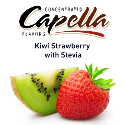 картинка Kiwi Strawberry with Stevia от магазина Paromag