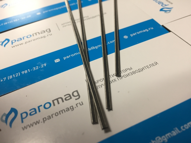 картинка The Staple Staggered Fused Clapton 2x0.4K/0.15Ni от магазина Paromag