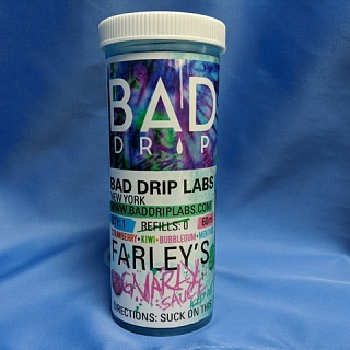картинка Bad Drip Farley's Gnarly Sauce Iced Out 60 мл, 3 мг/мл от магазина Paromag